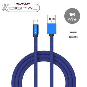 v-tac VT-5341 CAVO USB A MICRO USB 1 METRI BLU RUBY SERIES IN CORDA LED8496/home/nhnkwszl/public_html/img/thumb/300/v-tac_vt-5341_8496_cavo_usb_micro_blu_stoffa_1mt_ruby.jpg