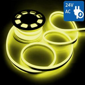 v-tac VT-555 NEON FLEX 24V 1200 LED GIALLO 10 METRI IMPERMEABILE LED2518