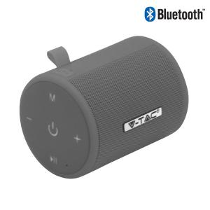 v-tac VT-6244 SPEAKER BLUETOOTH 5W GRIGIO LED7720/home/nhnkwszl/public_html/img/thumb/300/v-tac_vt-6244_7720_cassa_speaker_bluetooth_grigio_mini.jpg