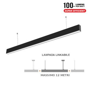 v-tac VT-7-40 PLAFONIERA LED 40W SOSPENSIONE NATURALE 1200CM SAMSUNG LED374