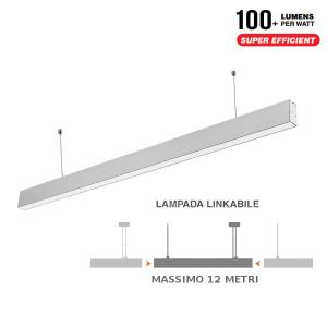 v-tac VT-7-40 PLAFONIERA LED 40W SOSPENSIONE NATURALE 1200CM SAMSUNG LED375