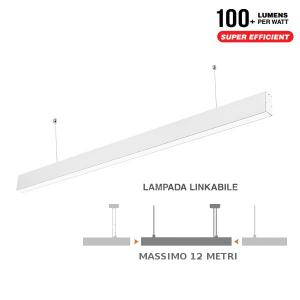 v-tac VT-7-40 PLAFONIERA LED 40W SOSPENSIONE NATURALE 1200CM SAMSUNG LED376