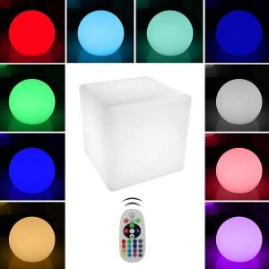 v-tac VT-7811 LAMPADA LED 3W CUBO RGB RICARICABILE IP54 LED40241