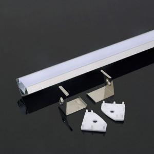 v-tac VT-8114 PROFILO ALLUMINIO ANGOLO PER STRISCE LED DA 2MT OPACO LED3356