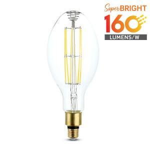 v-tac VT-2324 LAMPADINA LED E27 24W BIANCO NATURALE ED120 A FILAMENTO 160 LUMEN WATT LED2816