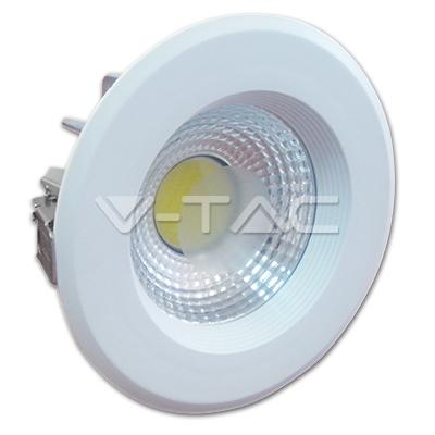 V-TAC VT-2610 FARETTO INCASSO 10W BIANCO FREDDO COB LED1100