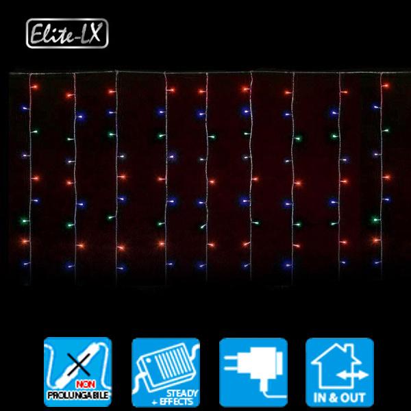 TECNO-NATALE LEDXK TENDA 182 LED CONTROLLER MEMORY MULTICOLORE LEDX30442