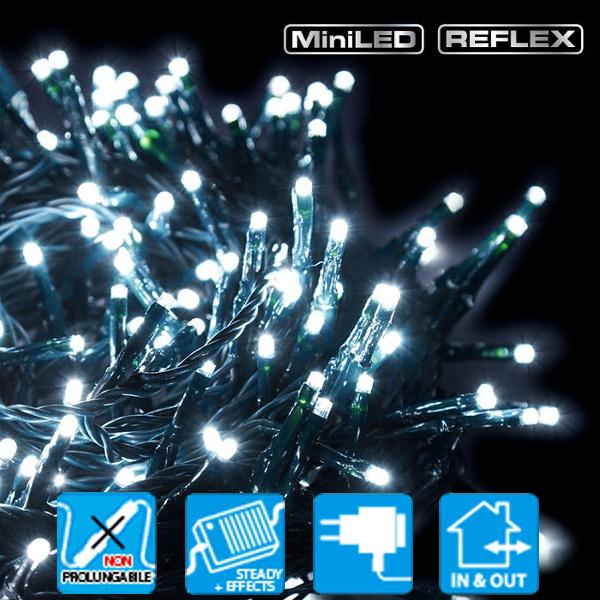 TECNO-NATALE LEDTLG CATENA 360 LED REFLEX CONTROLLER MEMORY BIANCO FREDDO LEDX32538