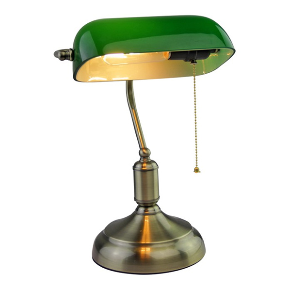 V-TAC VT-7151 LAMPADA DA TAVOLO BACHELITE ATTACCO E27 VERDE LED3912