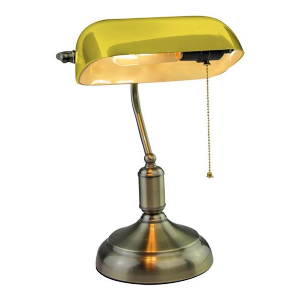 V-TAC VT-7151 LAMPADA DA TAVOLO BACHELITE ATTACCO E27 GIALLA LED3914