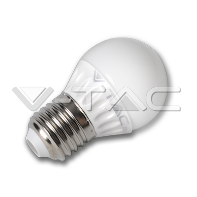 V-TAC VT-1879 LAMPADINA LED E27 6W BIANCO NATURALE LED4248
