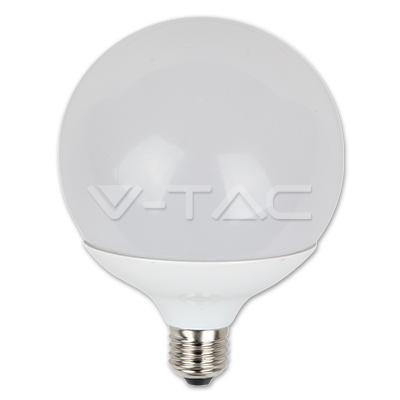 V-TAC VT-1898 GLOBO LED E27 15W BIANCO NATURALE LED4386