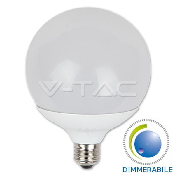 V-TAC VT-1884D GLOBO LED E27 13W BIANCO CALDO DIMMERABILE LED4254
