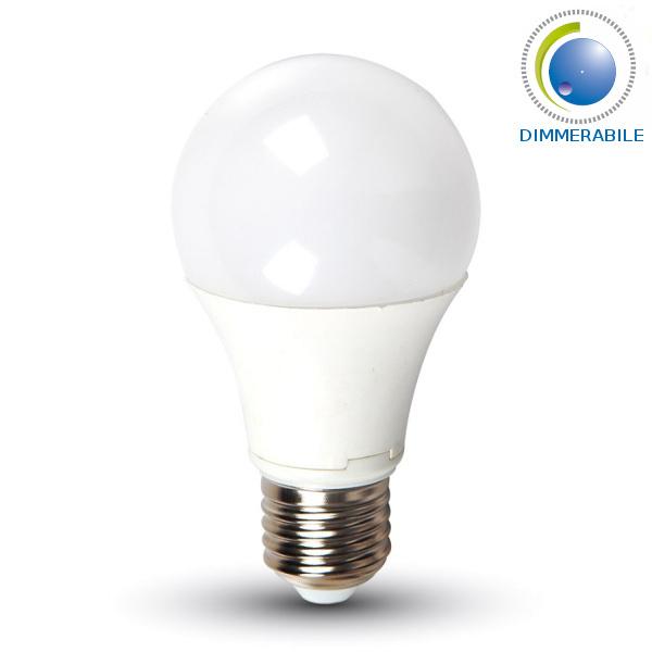 V-TAC VT-1853D LAMPADINA LED E27 10W BIANCO CALDO DIMMERABILE LED4282