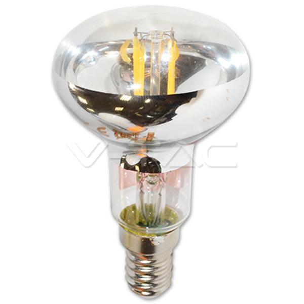 V-TAC VT-1976 LAMPADINA LED E14 4W R50 FILAMENTO BIANCO CALDO SPOT LED4310