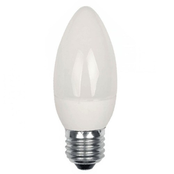 V-TAC VT-1821 LAMPADINA LED E27 5.5W BIANCO FREDDO A CANDELA LED43441