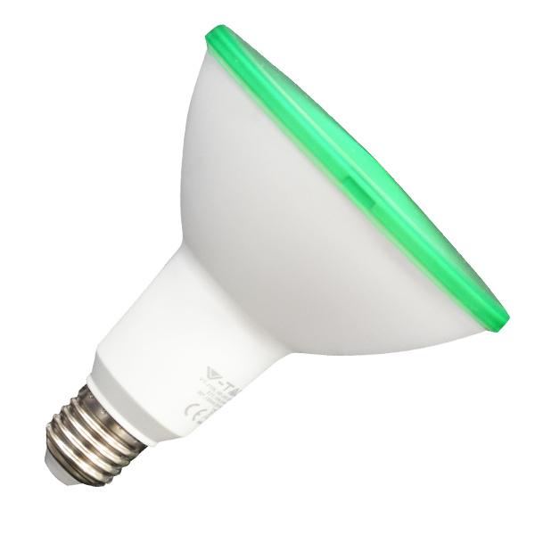 V-TAC VT-1125 LAMPADINA LED E27 PAR38 IP65 15W VERDE LED4418