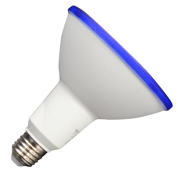 V-TAC VT-1125 LAMPADINA LED E27 PAR38 IP65 15W BLU LED4420