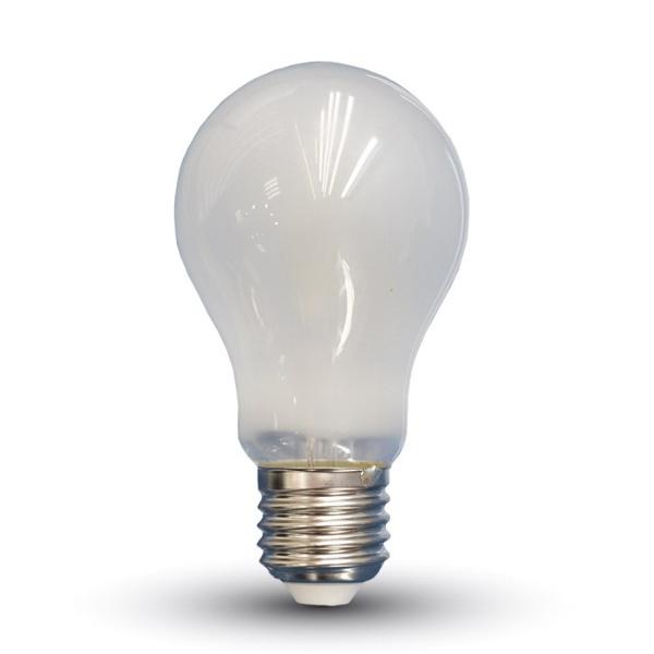 V-TAC VT-1938 LAMPADINA LED E27 A67 FIL. SATINATA 8W BIANCO FREDDO LED4485