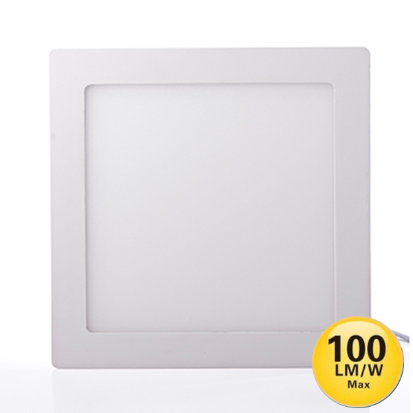 V-TAC VT-2200SQ MINI PANNEL 22W BIANCO CALDO QUADRATO LED4832