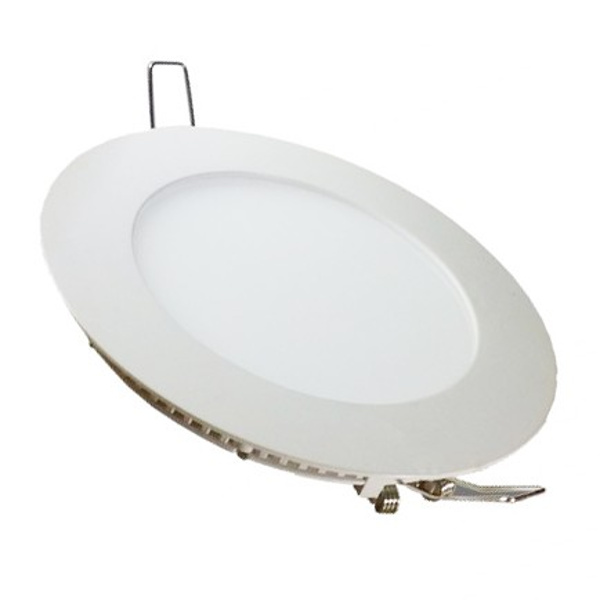 V-TAC VT-1209RD MINI PANNEL 12W BIANCO CALDO TONDO INCASSO-SUPERFICIALE LED4878