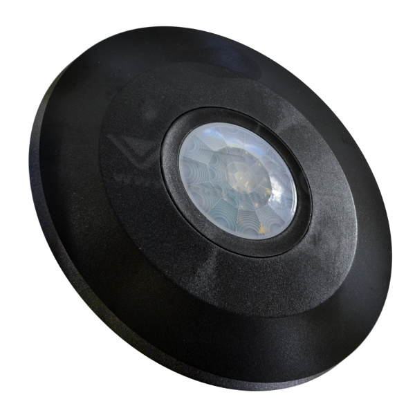 V-TAC VT-8027 SENSORE MOVIMENTO E CREPUSCOLARE 6MT SOFFITTO NERO LED5087