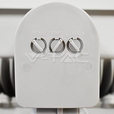 V-TAC VT-4730PIR FARO LED 30W BIANCO CALDO CON SENSORE LED5388