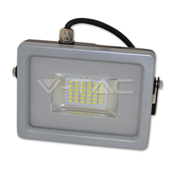 V-TAC VT-48202 FARO LED 200W ULTRASOTTILE BIANCO NATURALE  SMD NERO-GR LED5873