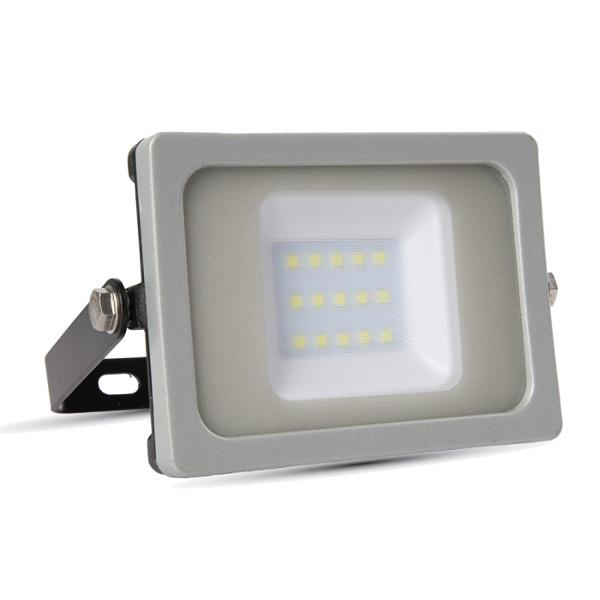 V-TAC VT-4911 FARO LED 10W ULTRASOTTILE BIANCO NATURALE SMD NERO-GRIG LED5775