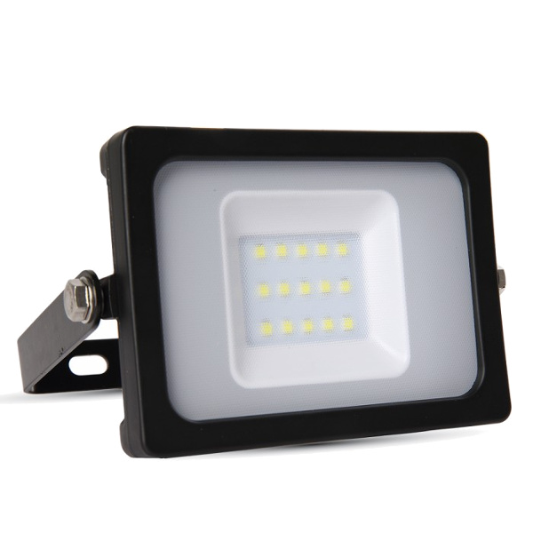 V-TAC VT-4911 FARO LED 10W ULTRASOTTILE BIANCO NATURALE SMD NERO LED5778