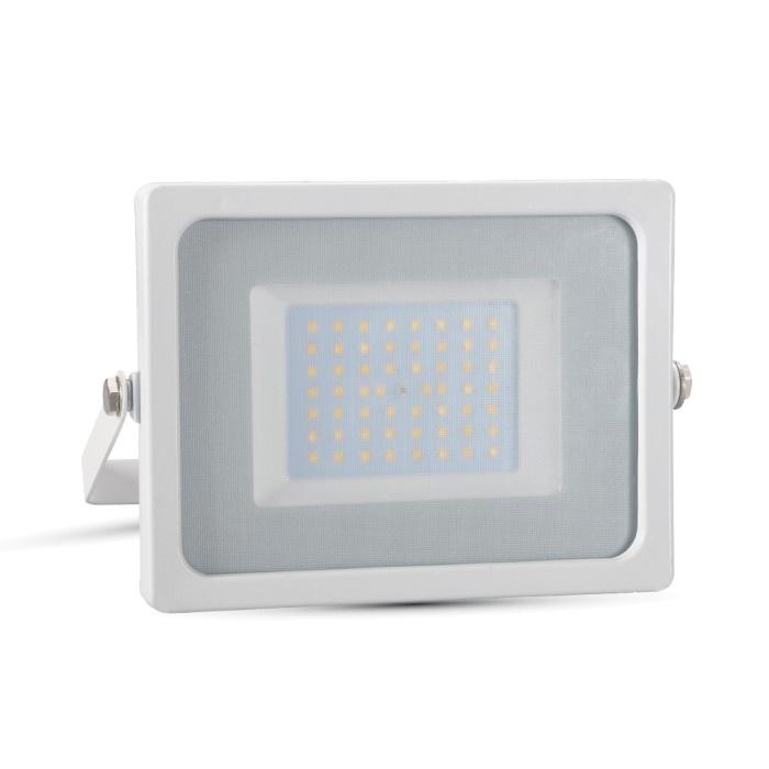 V-TAC VT-4955 FARO LED 50W ULTRASOTTILE BIANCO FREDDO SMD BIANCO LED5827