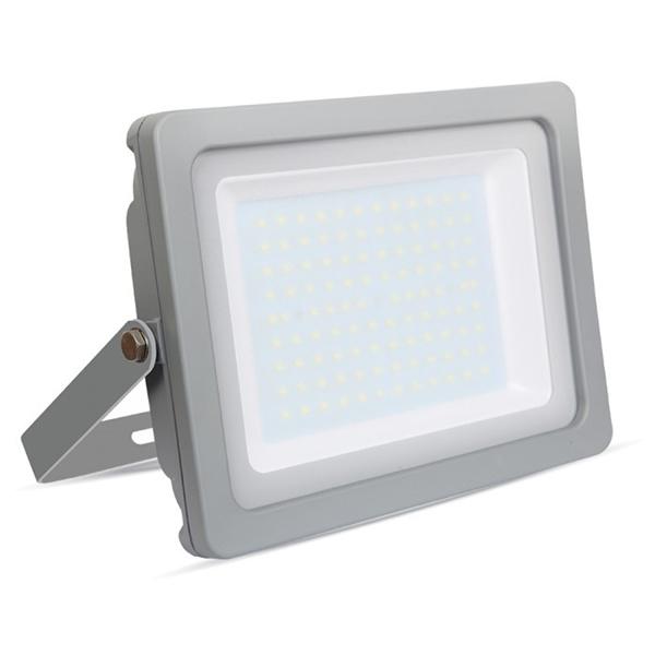 V-TAC VT-49100 FARO LED 100W ULTRASOTTILE BIANCO NATURALE SMD GRIGIO LED5853
