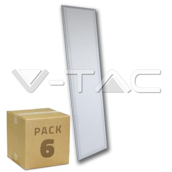 V-TAC VT-12032 PANNELLO LED 45W UGR LED 1200X300 BIANCO NATURALE 6PZ LED6329
