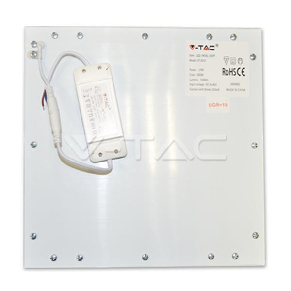 V-TAC VT-3032 PANNELLO LED 20W LED 295X295 BIANCO NATURALE CON DRIVER LED6215