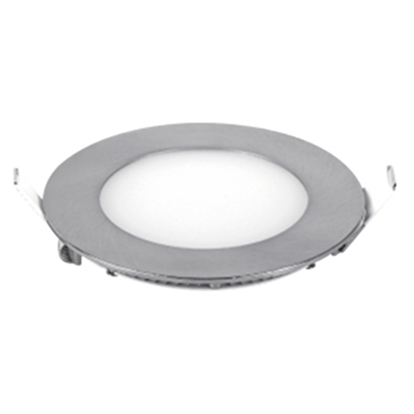 V-TAC VT-607SN MINI PANNEL 6W BIANCO CALDO TONDO SATINATO LED6337