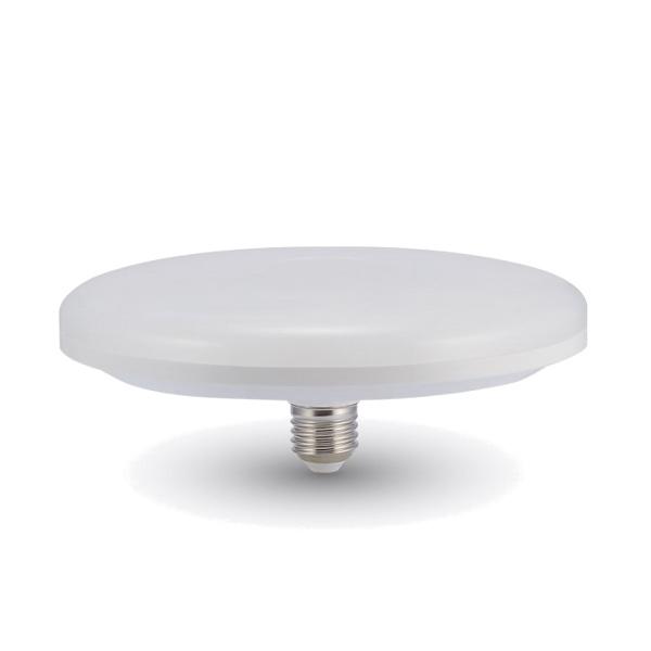 V-TAC VT-2124 LAMPADINA LED E27 UFO 24W DIAMETRO 200MM BIANCO CALDO LED7161