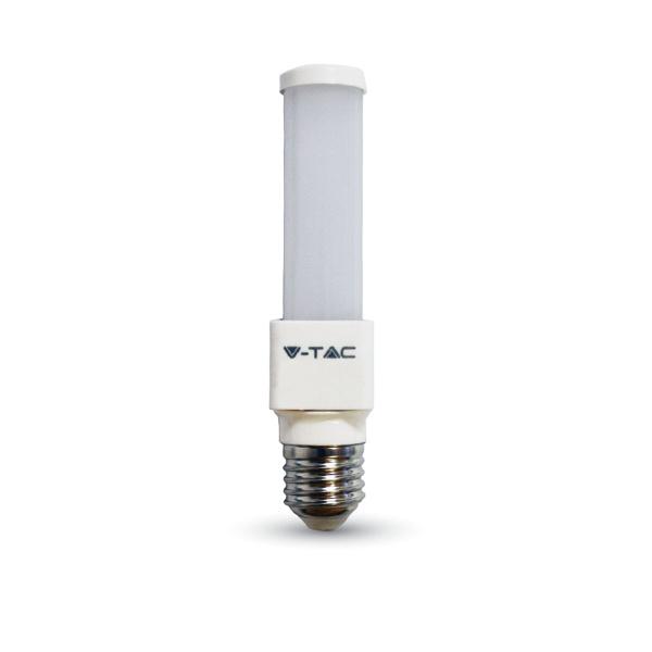 V-TAC VT-2046 LAMPADINA LED PL E27 6W BIANCO CALDO LED7211