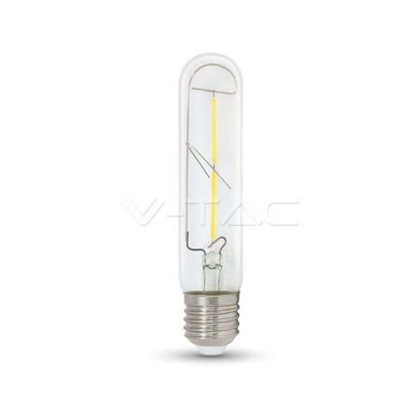 V-TAC VT-2042 LAMPADINA LED E27 T30 FILAMENTO 2W BIANCO CALDO  LED7251