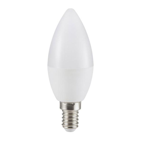 V-TAC VT-2079 LAMPADINA LED E14 7W BIANCO NATURALE A CANDELA LED7319