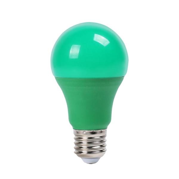 V-TAC VT-2000 LAMPADINA LED E27 9W VERDE LED7343