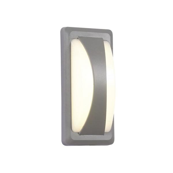 V-TAC VT-8058 LAMPADA LED 12W BIANCO CALDO CORPO GRIGIO IP65 LED8245