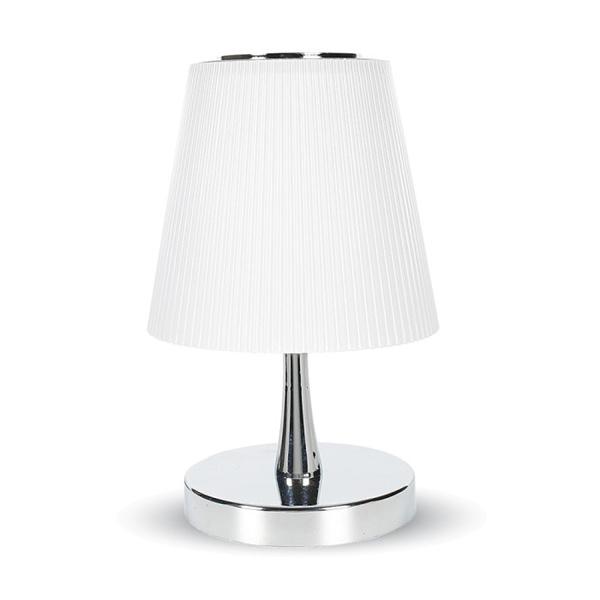 V-TAC VT-1035 LAMPADA DA TAVOLO LED 5W CORPO BIANCO  BIANCO NATURALE LED8502