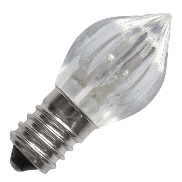 LIFE 9E+141 LAMPADINA LED VOTIVA E14 0,5W 10-24V BIANCO CALDO LED9E0141C