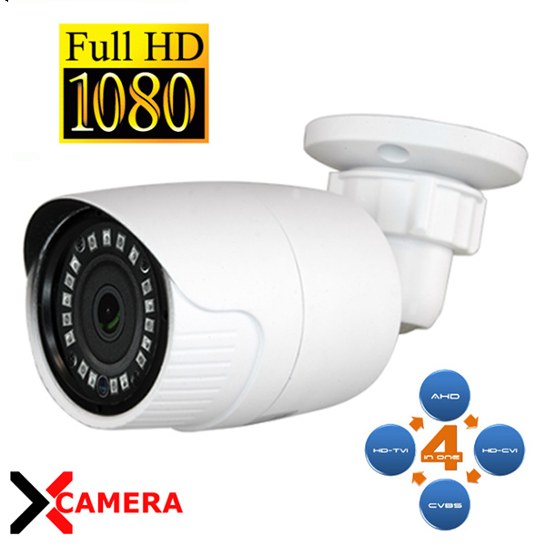XCAMERA CV029B CAMERA BULLET AHD/TVI/CVI/ANALOGICA 18 IR 2MP VISCV029IB-F4N1