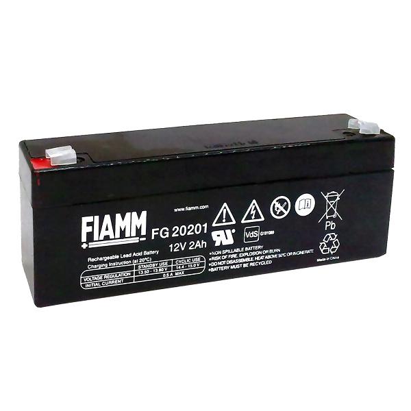 FIAMM FG20 BATTERIA AL PIOMBO 12V 2AH ANTFG20201