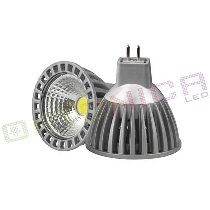 OPTONICA SP-116Y LAMPADINA LED GU5.3 6W BIANCO FREDDO IN ALLUMINIO LEDSP1168