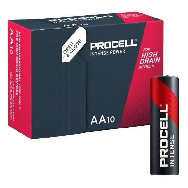 DURACELL LR6/PROCELL STILO AA PROCELL INDUSTRIAL INTENSE - SCATOLA 10 BATTERIE MELDUIN10