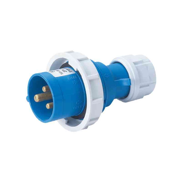 CFG  SPINA VOLANTE 2POLI+T 16A INDUSTRIALE MONOFASE IP67 MELES001