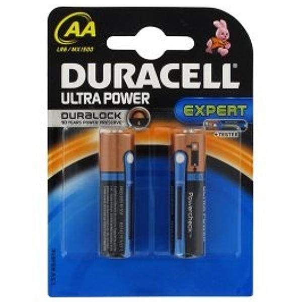 DURACELL LR6/MX1500 STILO AA ULTRA POWER - BLISTER 2 BATTERIE MELDU0060B2