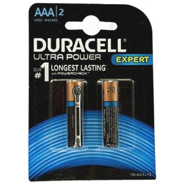 DURACELL LR03/MX2400 MINISTILO AAA ULTRA POWER - BLISTER 2 BATTERIE MELDU0061B2